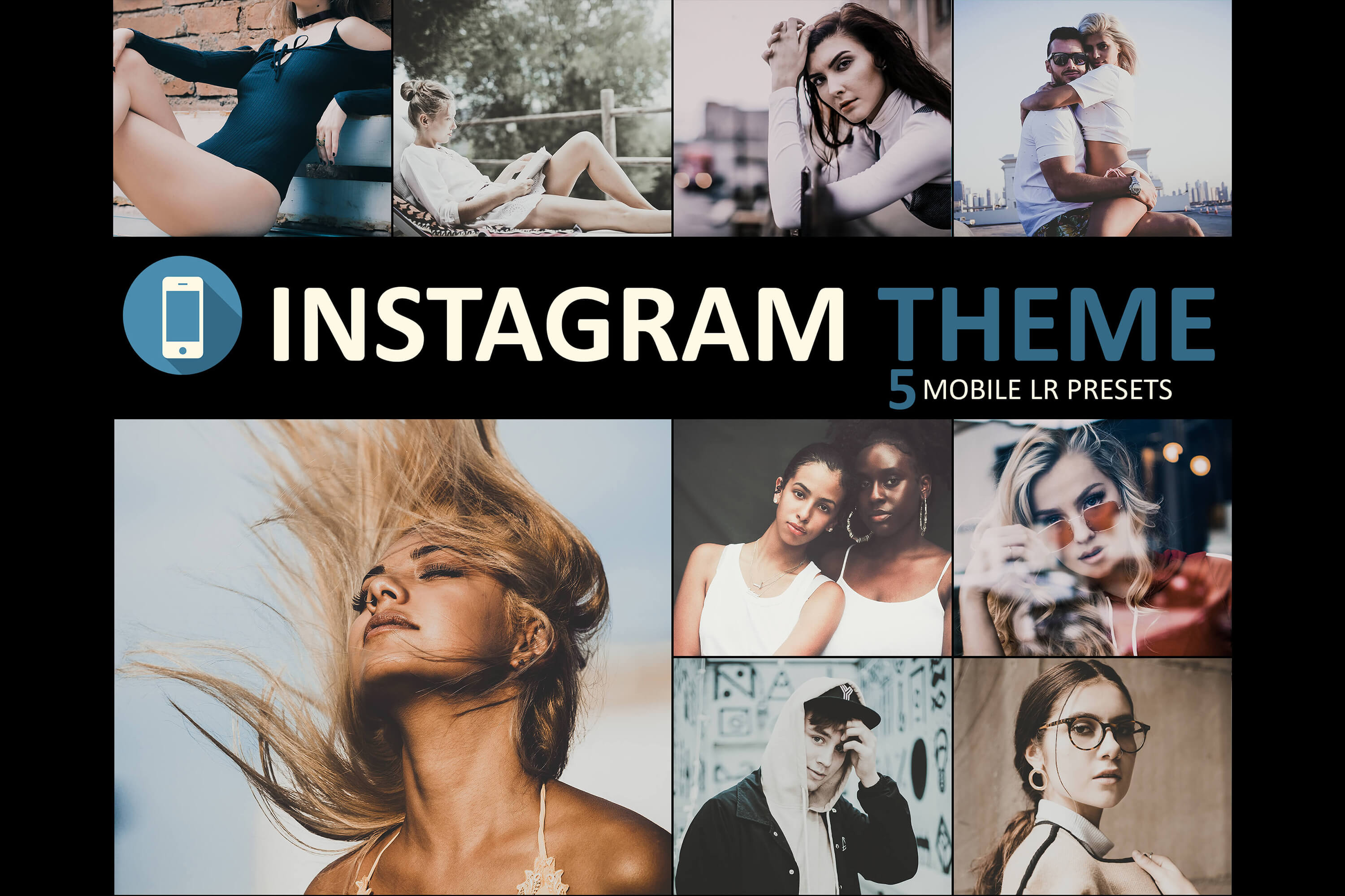 Instagram Mobile lightroom Main Banner