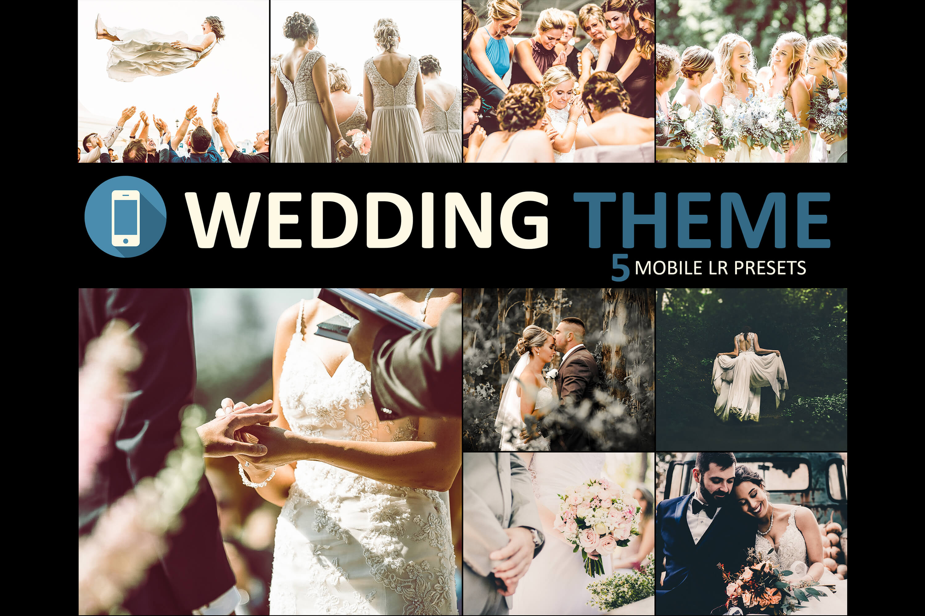 Wedding mobile lightroom Main Banner