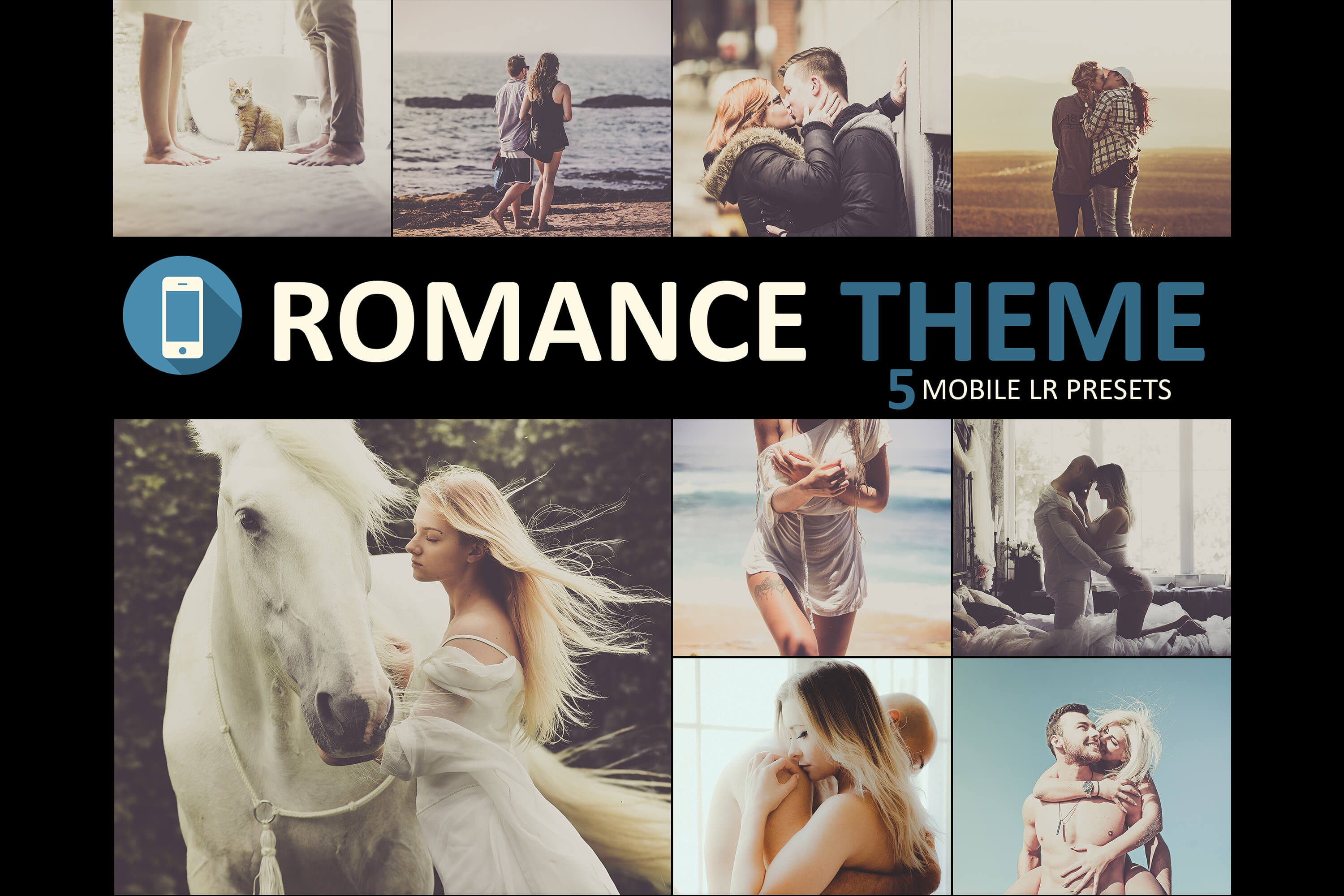 Romance Mobile Lightroom Main Banner