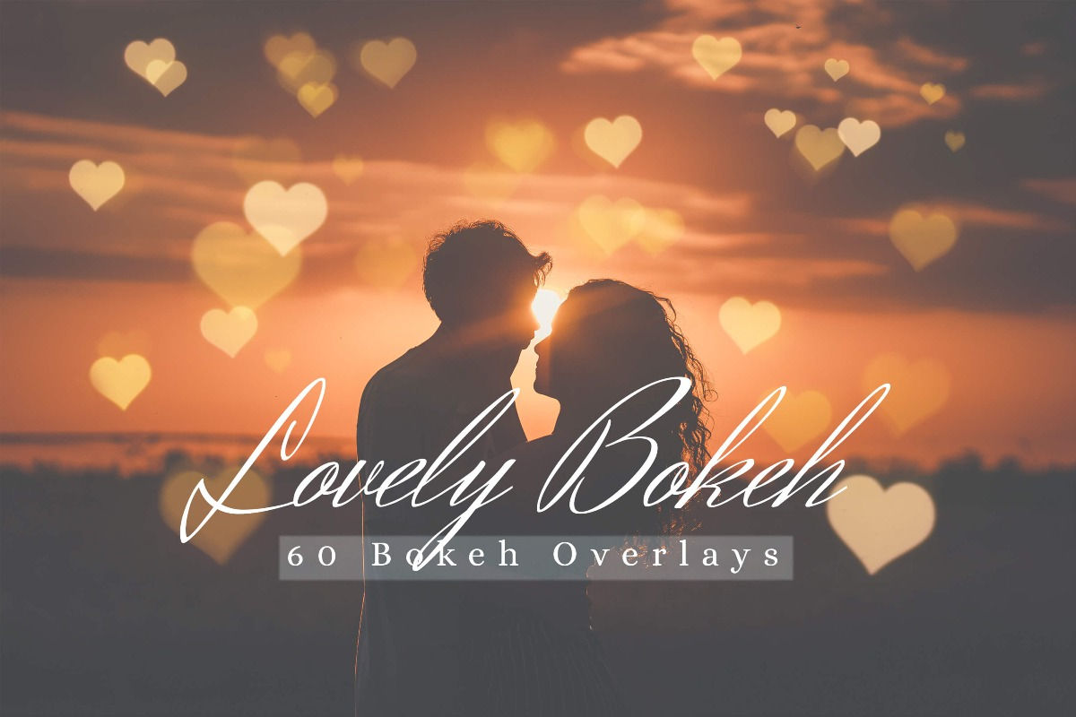 60 Lovely Bokeh Pack I
