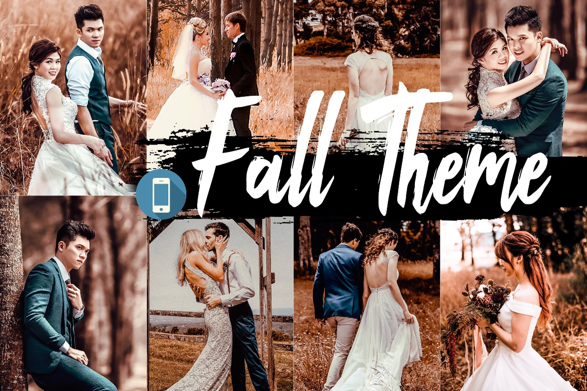 Fall Mobile Lightroom Presets