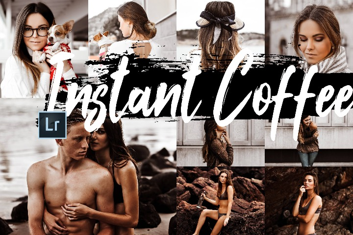Instant coffee Desktop Lightroom Presets, ACR presets