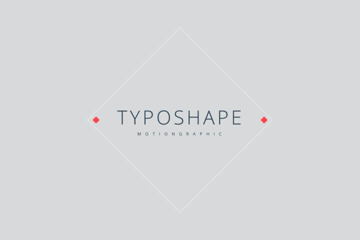 Typoshape Title Pack Motion Graphic Template MOGRT Premiere Pro