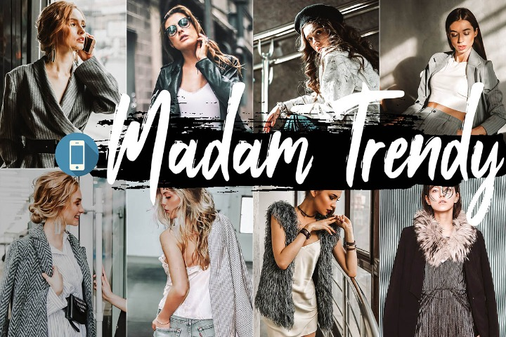 Madam Trendy Mobile Lightroom Presets