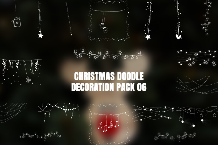 Christmas Doodle Pack 06 MOGRT