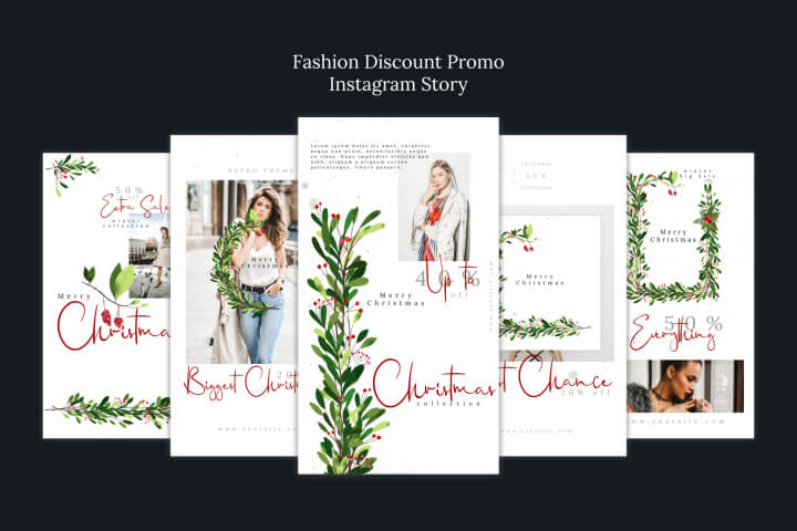 Fashion Discount Promo Instagram Story