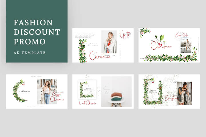Fashion Discount Promo is a high-quality After Effects template