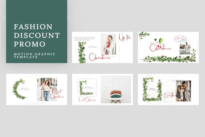 Fashion Discount Promo is a high-quality Motion Graphic template
