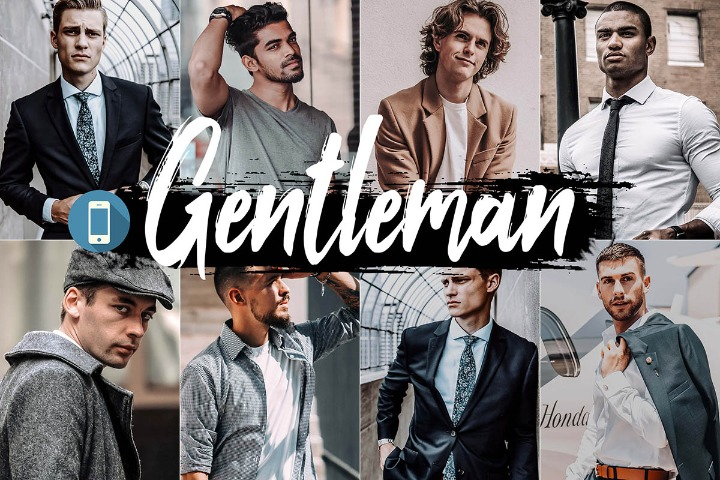 Gentleman Mobile Lightroom Presets