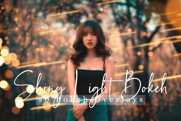 Shiny Light Overlays Bokeh Photo Effect Photo Overlays, Photoshop Overlay Sparkles effects digital backdrop, Sunlight, Professional light leak