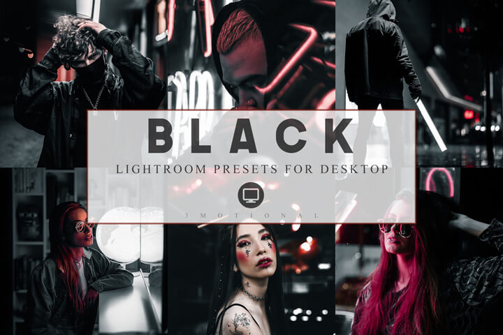 Lightroom Presets Black Luxury Theme Instagram, Lifestyle Preset for Bloggers, Dark tone, Luxury Pictures Filter, Influencer Photographer, vsco
