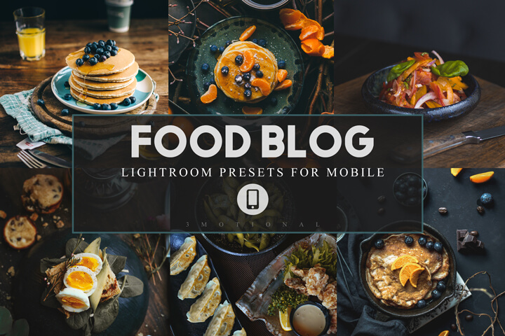 Mobile Lightroom Presets Food Blog, Food bloggers presets, Lifestyle Instagram filter Influencer color correction lightroom mobile preset