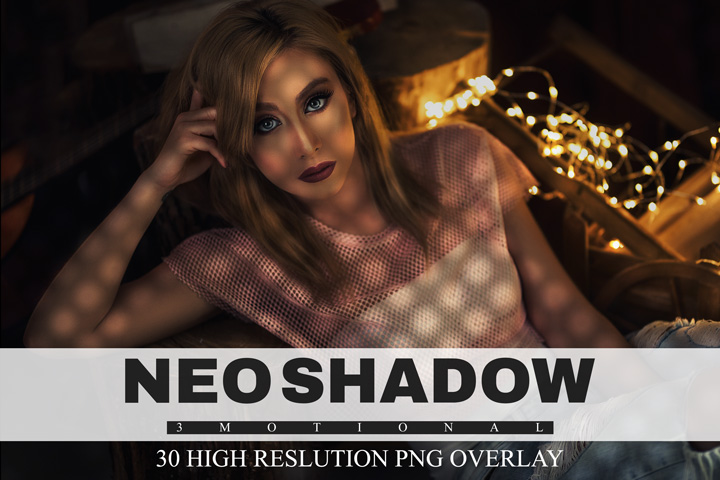 30 Neo shadow overlays, Creative Professional Digital backdrop photoshop mix Photography photo overlay, light effect, Neo shadow, png file