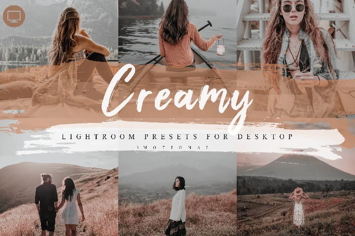 5 Creamy Lightroom Presets, Instagram Blogger Photo Filter, Outdoor, Bright style Indoor, Forest tone travel photographer influencer preset