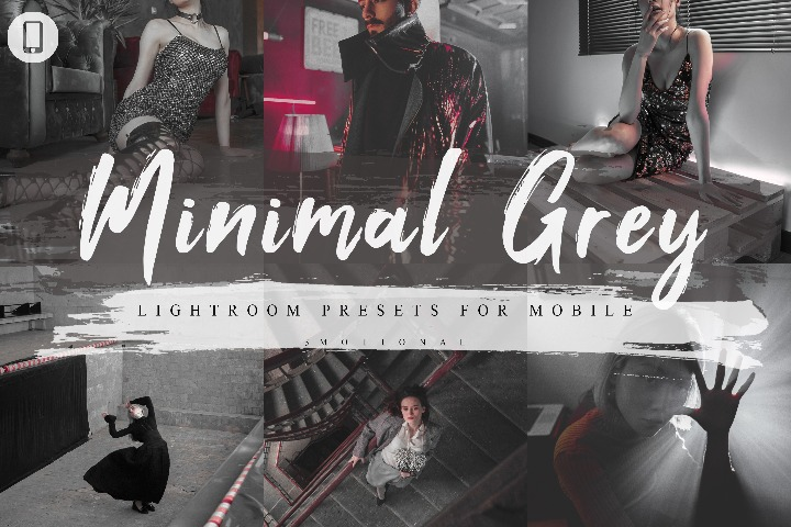 7 Minimal Grey Mobile Lightroom Presets, Instagram Blogger edit Photo Filter Outdoor, Indoor &Forest Preset travel photographer influencer preset