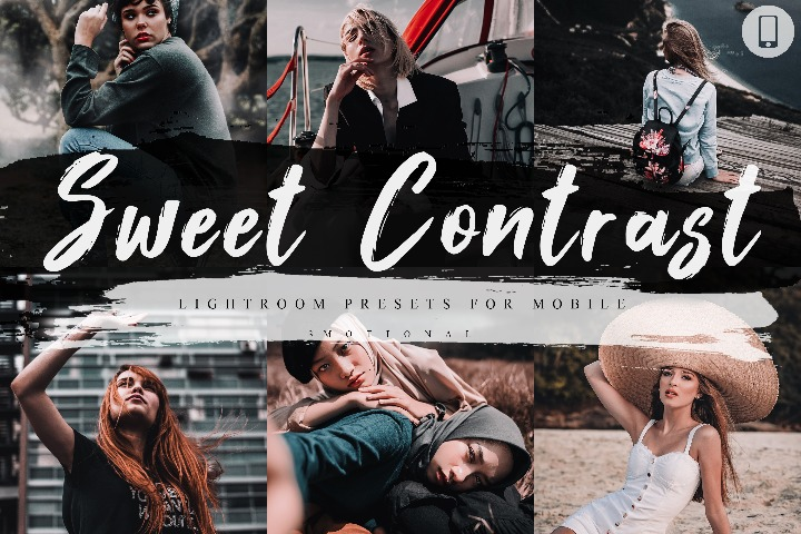 Sweet Contrast Mobile Lightroom Presets, Instagram Blogger edit Photo Filter Outdoor, Indoor Forest Preset travel photographer influencer
