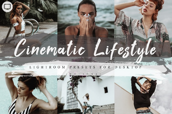 5 Cinematic Lifestyle Lightroom Presets, Mobile lr Preset, Photoshop Action, ATN Lut Xmp ACR Camera raw Instagram Blogger Photo Filter, Outdoor, Bright style Indoor, Forest Preset, travel photographer influencer preset