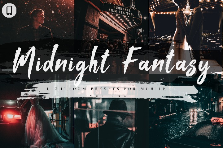 7 Midnight Fantasy Mobile Lightroom Presets, Instagram Blogger edit Photo Filter Outdoor, Indoor &Forest Preset travel photographer influencer preset