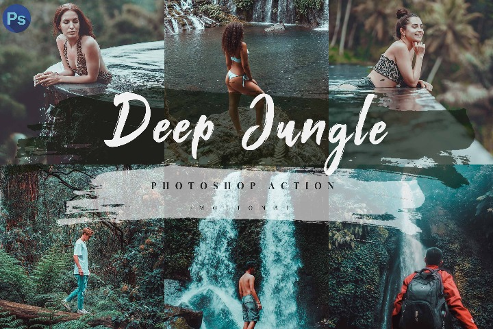 12 Deep Jungle Lightroom Presets, Instagram Blogger, Photo Filter, Freelancer, Nature, Outdoor, Forest, Travel, Lake, Vacation, Trip, Mood, Photoshop action, acr xmp camera raw, lut photo filter, Mobile lightroom presets, mobile presets