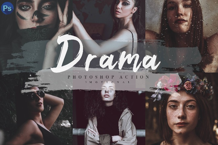 14 Drama Mobile Lightroom Presets, Lightroom Presets, lut photo filter, Photoshop Action, ACR Camera Raw, XMP, Cube File, atn file,