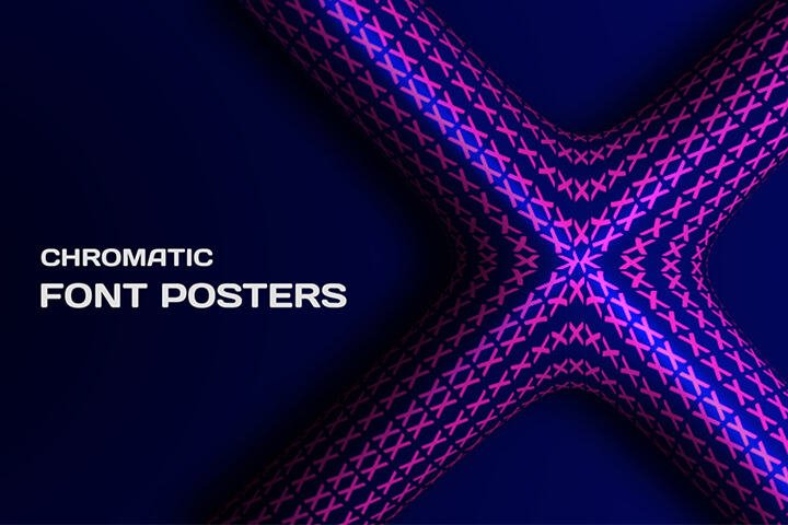 """3D Kinetic Typo Poster"" is a different After Effects typography template."