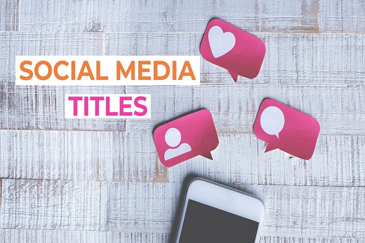 Social Media Titles AfterEffects Template
