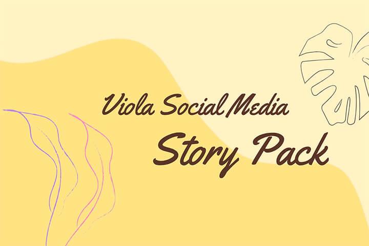 Viola Social Media Story Pack MOGRT