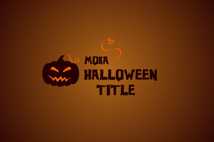 MOKA Halloween Titles MOGRT