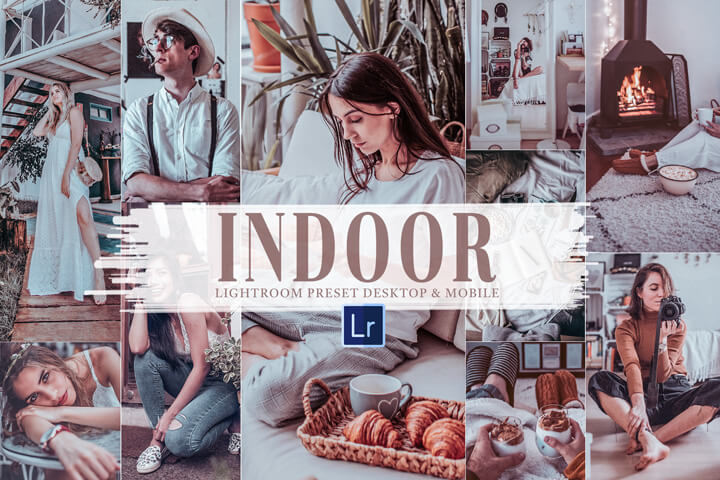 10 Indoor Mobile and Desktop Lightroom Presets, bright and clean theme for Instagram blogger, brilliant and clean tone family photography