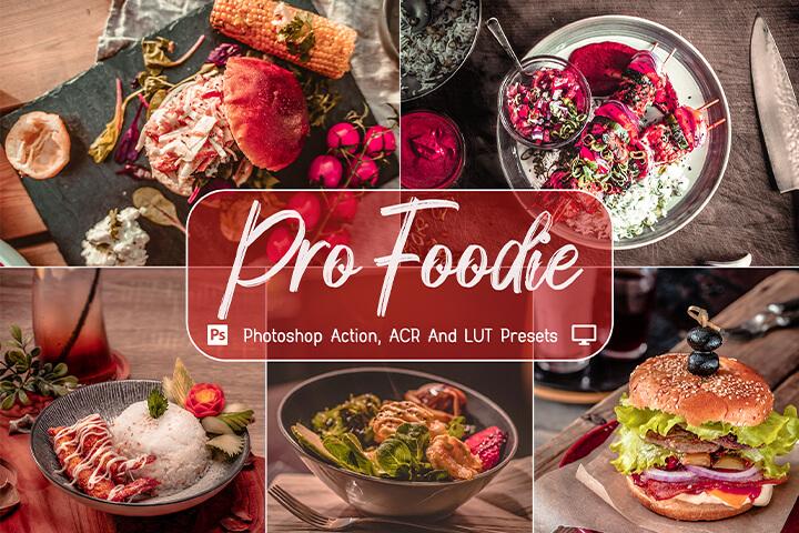 Pro Foodie Lightroom Presets Lightroom Mobile Presets Photoshop Action