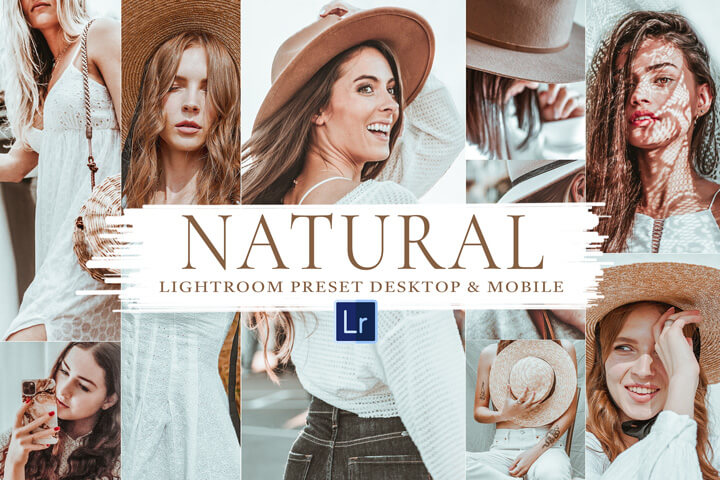 10 Natural Mobile and Desktop Lightroom Presets, Soft Natural Photo Editing Filter for Instagram Influencer, Outdoor Family Portrait