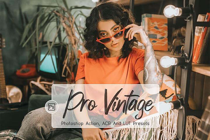 Pro Vintage Lightroom Presets Lightroom Mobile Presets Photoshop Action