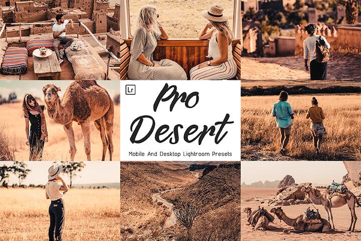 Pro Desert Lightroom Presets Lightroom Mobile Presets Photoshop Action