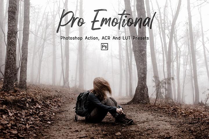 Pro Emotional Lightroom Presets Lightroom Mobile Presets Photoshop Action