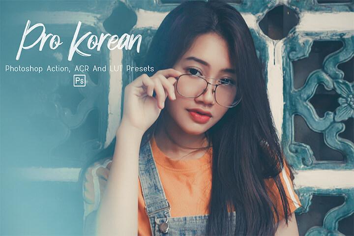 Pro Korean Lightroom Presets Lightroom Mobile Presets Photoshop Action