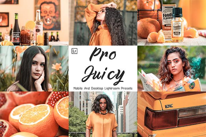 Pro Juicy Lightroom Presets Lightroom Mobile Presets Photoshop Action