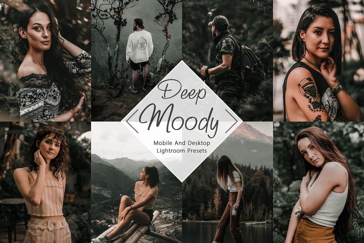 10 Mobile Lightroom Presets Neo Deep Moody Desktop Lightroom Presets influencer Presets Instagram Presets Blogger Presets Mobile Presets 3Motional