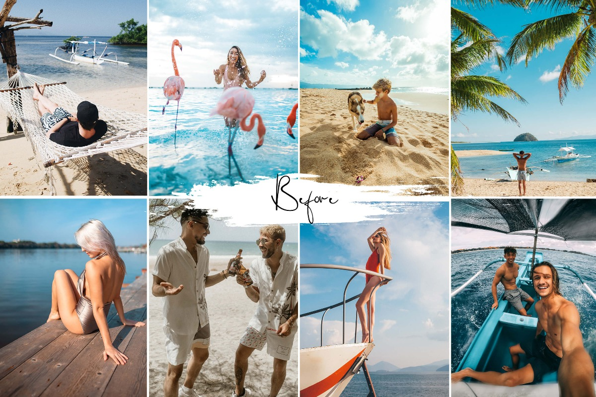 15 Photoshop Actions ACR Presets Neo Orange Teal - 3Motional