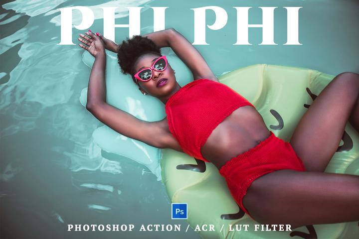 Phi Phi Lightroom Presets Lightroom Mobile Presets Photoshop Action