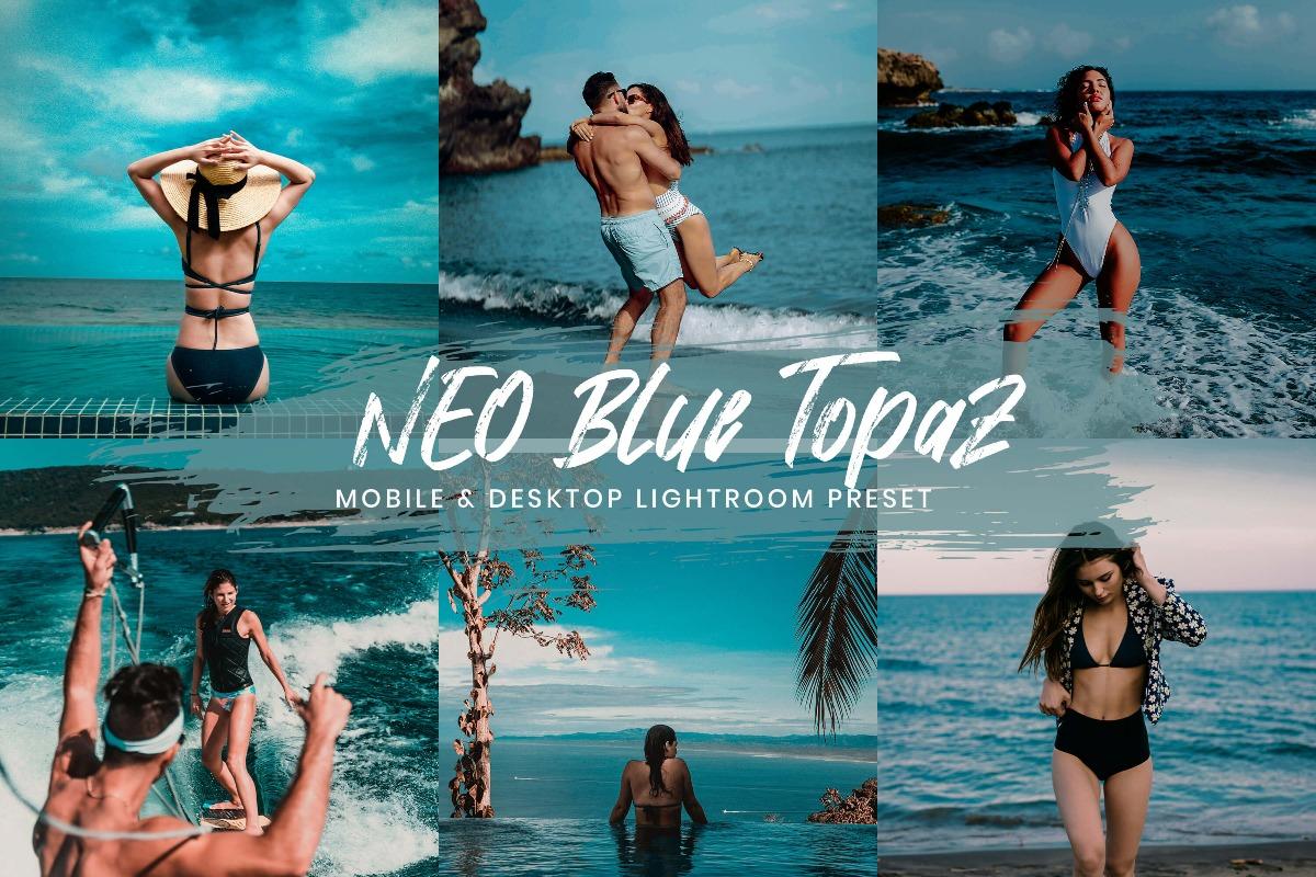 15 Lightroom Presets Neo Blue Topaz Mobile Presets Desktop Lightroom Instagram Presets Travel Presets Blogger Preset Lightroom 3Motional