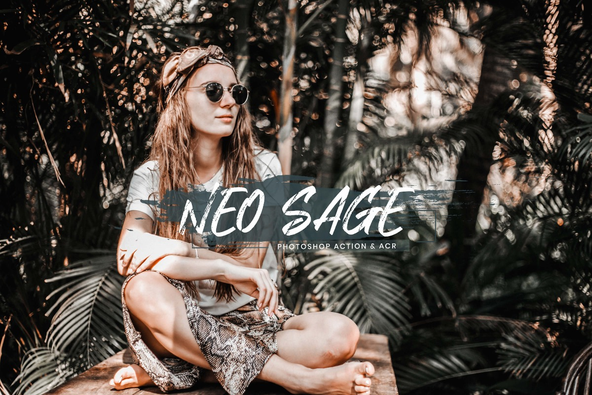 15 Photoshop Actions ACR Presets Neo Sage Ps Actions Instagram Travel Photography 3motional Presets Blogger Lifestyle Influencer Tone