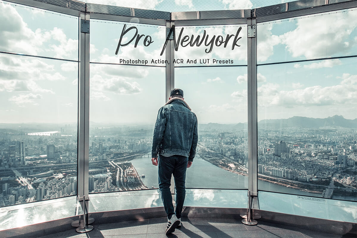 20 Photoshop Actions ACR & LUT Presets Neo New York Ps Actions Instagram Blogger Fashion Style City Lifestyle Photoshop Filters 3motional