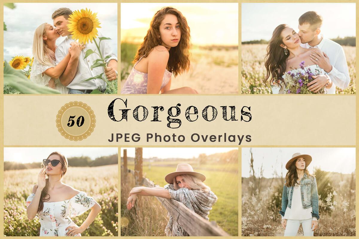 50 Gorgeous Photo Overlay Photoshop Lens Overlay Light leak Overlay sun flare Overlay Sun Light Overlay Bokeh Overlay lens flare Overlay