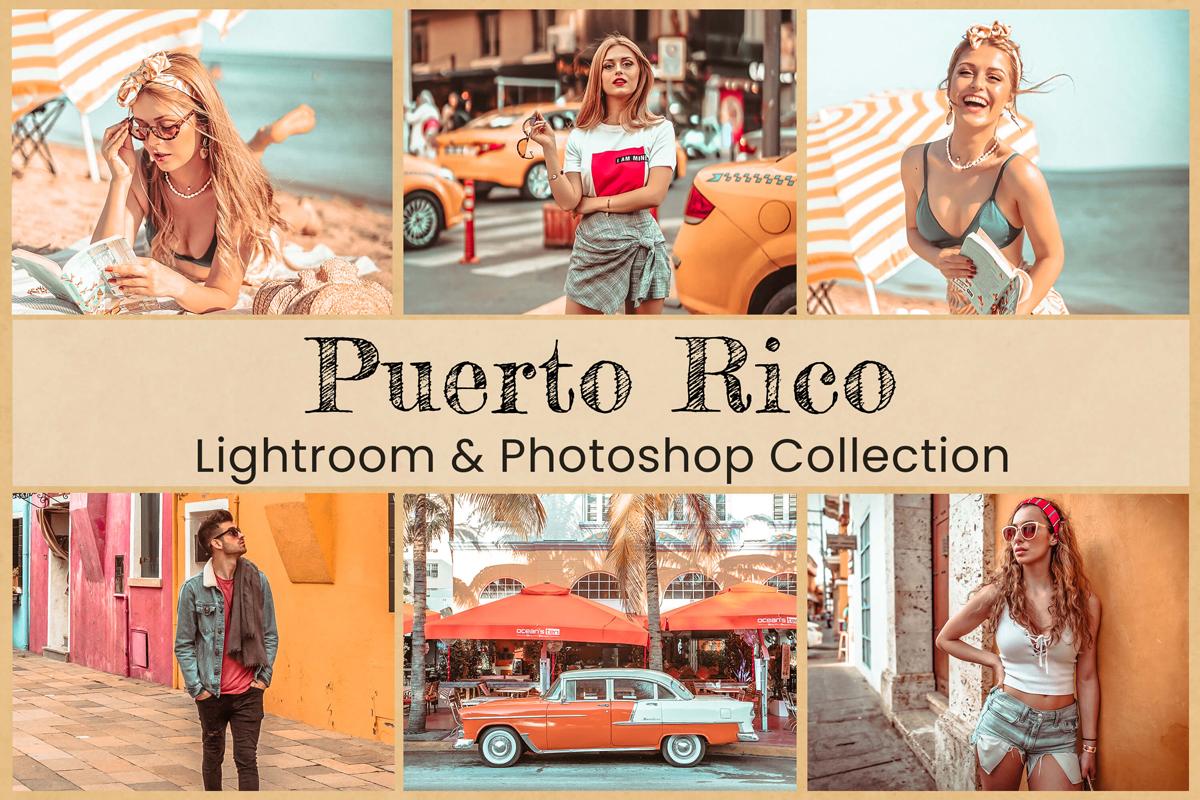 10 Puerto Rico Lightroom Preset Mobile Preset Photoshop Action Acr Warm Preset Bright Preset Pastel Beach Preset Summer Preset Travel Preset