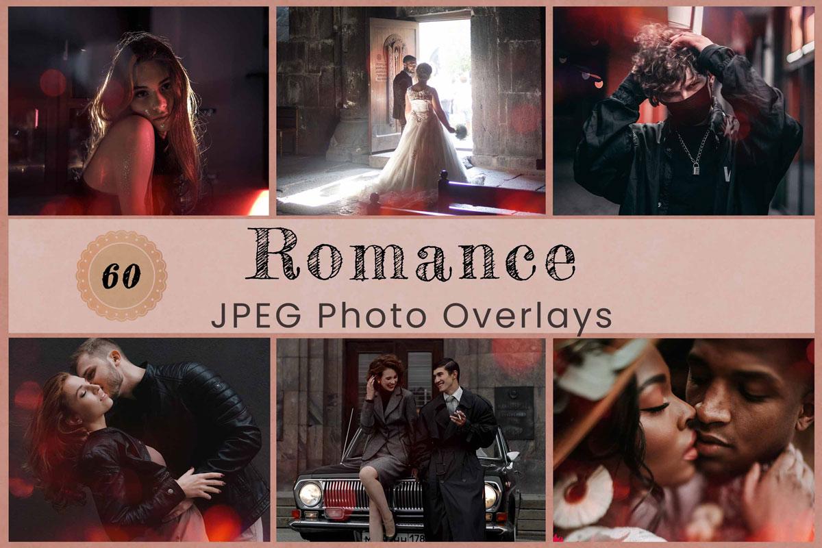 60 Romance Photo Overlay Photoshop overlay Love Bokeh Backdrop Red Backdrop Digital Overlay Photography backdrop Romance Fantasy Wedding Art
