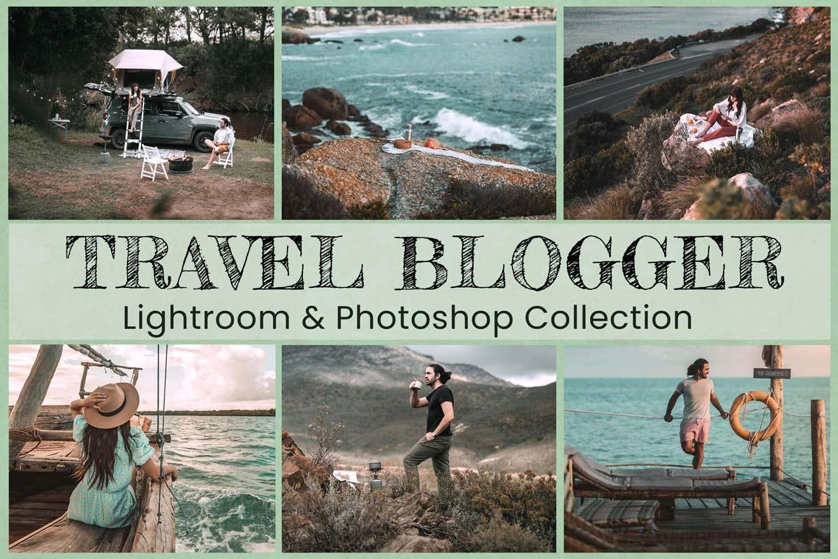 10 Travel Blogger Lightroom Presets Desktop Lightroom Mobile Presets Photoshop Actions ACR Presets Instagram outdoor influencer photography