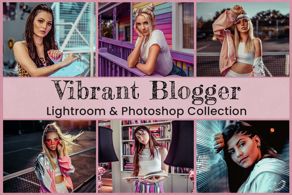 15 Vibrant Blogger Lightroom Presets Lightroom Mobile Presets Photoshop Actions ACR Presets lifestyle vibrant and bright Instagram theme for Photo editing warm outdoor style