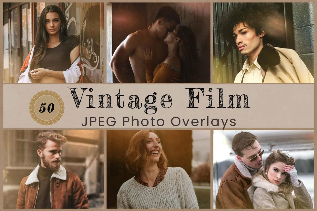50 Vintage Photo Overlay for Photoshop Natural light Leak Photoshop Overlay Sun Flare Wedding Overlay Photography Backdrop Digital Overlay