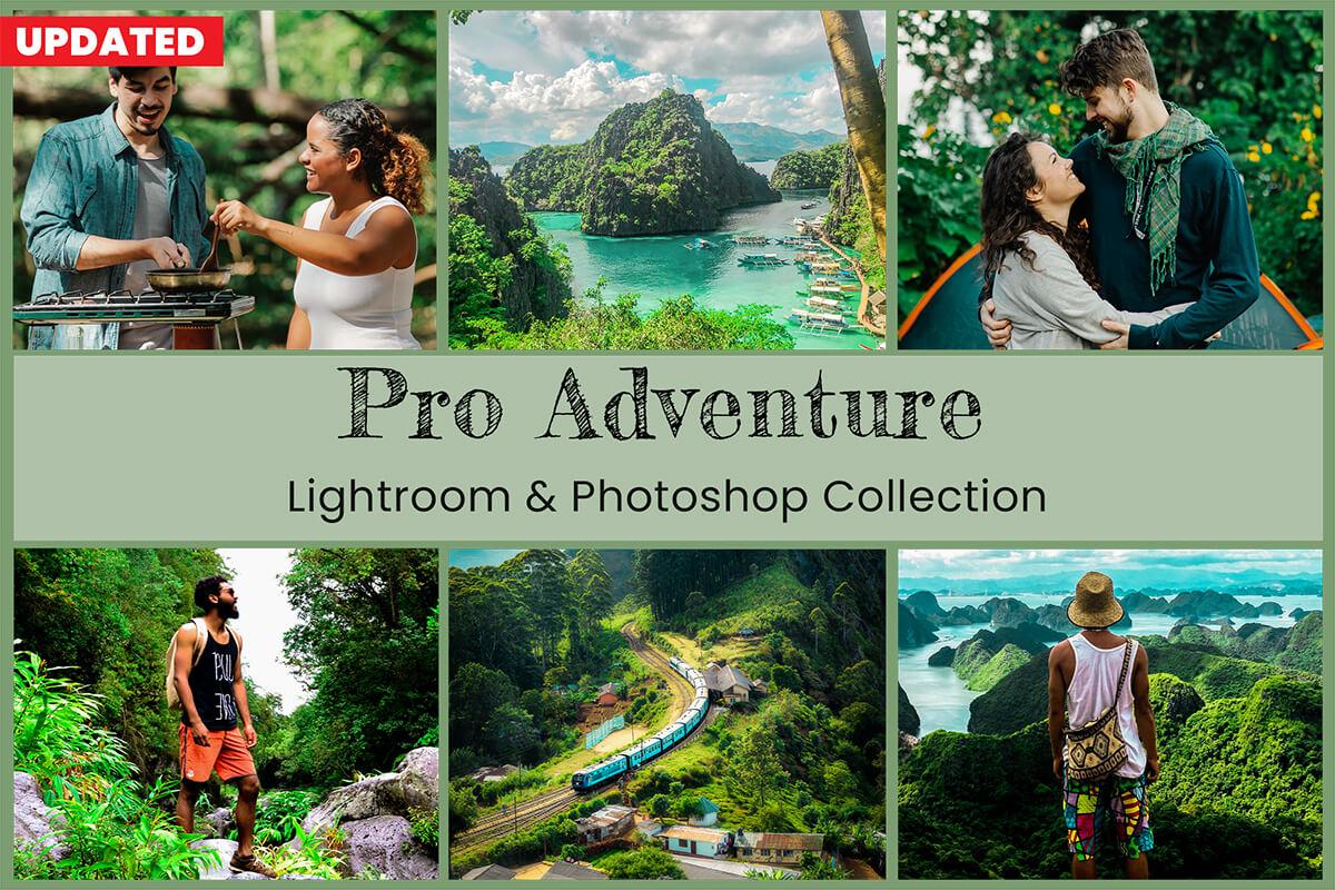 10 Pro Adventure Lightroom Presets Desktop Lightroom Mobile Presets Photoshop Actions ACR Presets Instagram Travel Lifestyle For Photography