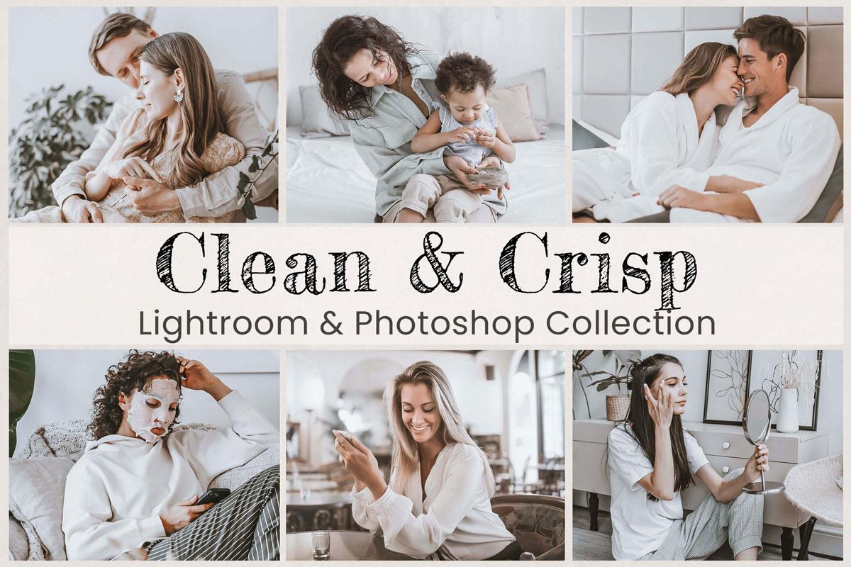 Clean & Crisp Presets Lightroom Mobile Presets, Photoshop Presets, White Preset Bright Preset Blogger Presets Instagram Preset Photo Presets